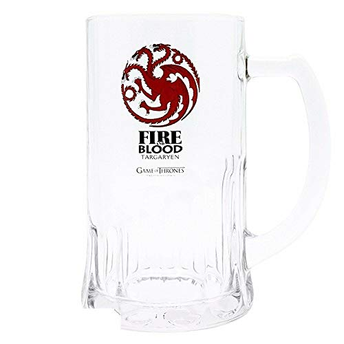Game of Thrones - TV Series Bierpul 500 ml - Targaryen - Fire & Blood
