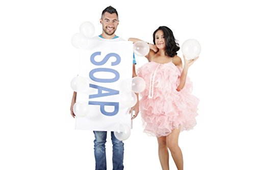 Soap and loofah costume set