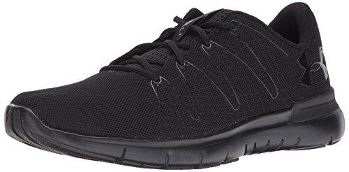 Under Armour Men's Thrill 3 Running Shoe, Black (003)/Black, 10.5