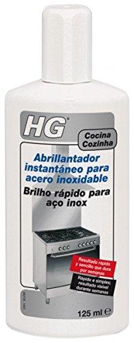 HG 482012130 - Abrillantador instantáneo acero inoxidable (envase de 125 ml)