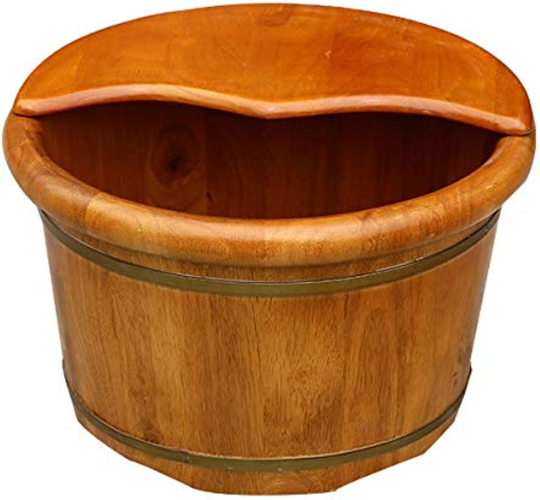 LFES Pediküre Becken Massivholz Fubad Barrel Home Massage Schaum Fu Barrel Adult Waschbecken Glatt Und Zart Pediküre Fsser 40  26cm