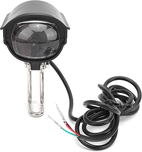 XINGDONG Bicicleta LED Ligera Bicicleta de luz Flashlight Impermeable Bicicleta eléctrica Lámpara Delantera para 36V 48V Alto Brillo y Buena Capacidad de penetración. Durable
