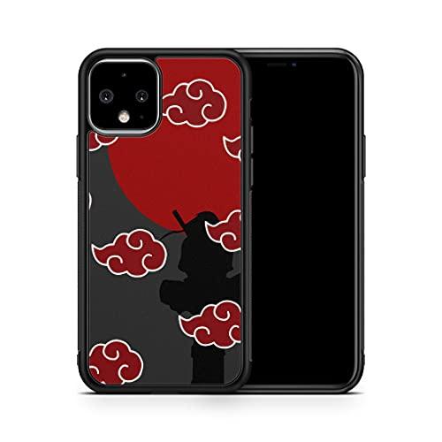 Inspired by Naruto Akatsuki Manga Case for Google Pixel 5 4A 5G 4 3A 3 XL 3A XL 2XL 2 Case Sharingan Anime Phone Cover M225
