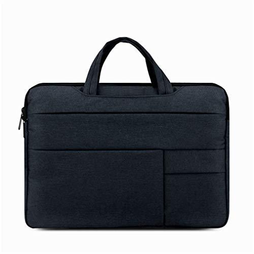 Laptoptasche Männer und Frauen Business Notebook Tasche Handtasche Computer Tasche (Marine)