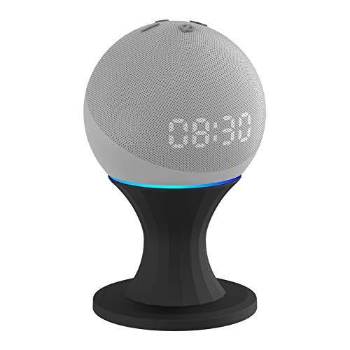 Soporte de mesa para Echo Dot 4th Generation Gen 360º, soporte de soporte ajustable, para altavoces Smart Home, ahorro de espacio, accesorios de puntos, calidad de sonido mejorada