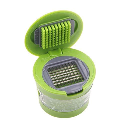 Mini Portable Garlic Press Chopper Slicer Hand Presser Grinder Crusher Tools Kitchen Grater Garlic Stainless Steel