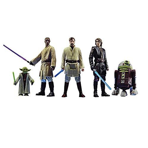 Star Wars Vintage Master Yoda Mace Windo OBI-WAN Anakin 5pack 3.75