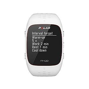 Polar M430 Reloj Running con GPS, Unisex Adulto, Blanco, S