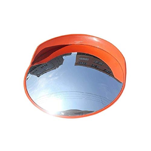 L.TSN Espejo de tráfico de Gran Angular para Carretera al Aire Libre, Protector Solar a Prueba de Lluvia Espejo Convexo Acera Espejo de Punto Ciego para automóvil 45-120 cm (tamaño: 120 cm)