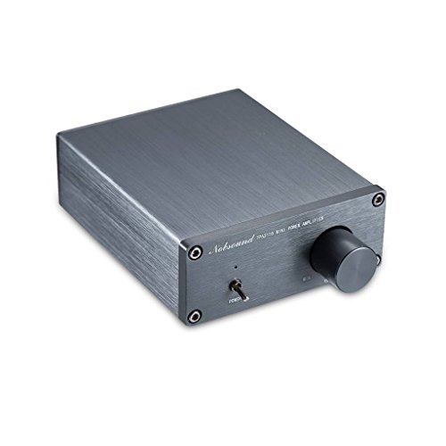 Nobsound 2 Channel Power Amplifier Mini Audio Amp Hi-Fi Stereo Class D Home Speaker 50W x 2 TPA3116 (no Power Supply)