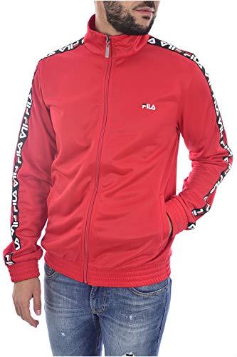 Fila Men Tape Track Jacket, Giacca sportiva - L