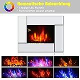 Homcom 820-033 Elektrokamin Kamin Kaminofen Elektrischer Wandkamin (Modell1) - 4