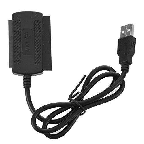 USB 2.0-zu-IDE-SATA-Adapterkabel für 2,5/3,5-Zoll-Festplatten-Festplatten-Konverter-Unterstützung Hot Plug Kein Treiber erforderlich