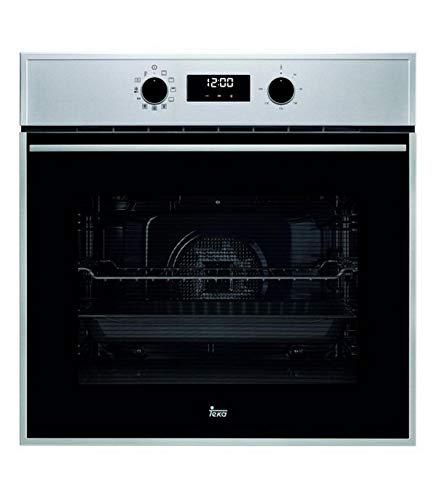 TEKA   Horno Multifunción   Modelo HSB 645   SurroundTemp A+ con 9 funciones de cocinado   HydroCleanPRO   Eficiencia energética A+   Acero Inoxidable   59.5 x 59.5 x 55.9 cm