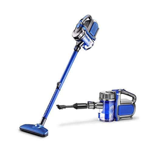 LKK-KK Stick for aspiradoras sin bolsa potente succión Ligera 2 en 1 vacío Handheld Auto en suelo duro pelo de la alfombra for mascotas [Clase energética A]