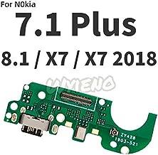 كابلات مرنة للهاتف المحمول من BALOO-Mobile Phone - Wyiino لنوكيا 7 7.1 X7 2018 8.1 8 X71 Plus USB Dock الشحن التوصيل كابل الميكروفون موصل اللوحة GTHM-4001007883796-005