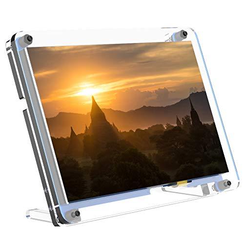 Für Raspberry Pi 7-Zoll-Touchscreen mit Schutzhülle, 1024 x 600 Pixel IPS-Display, HDMI-Modul Mini Second Monitor, kompatibel mit Pi 4 / 3B + / Zero/Windows 7/8/10 / Raspbian/Ubuntu