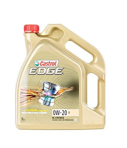 LITRO CASTROL EDGE FLUIDO FLUIDO TITANIO 0W-20 V ACEITE MOTOR