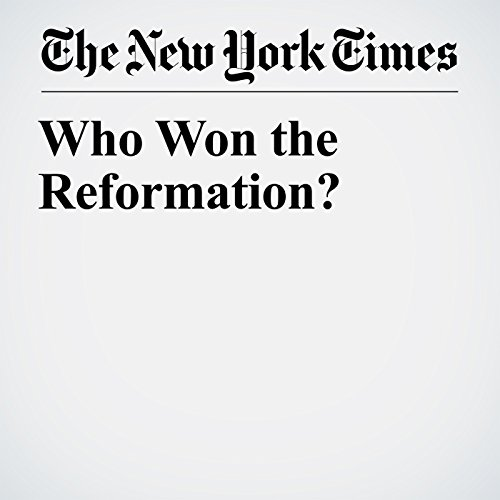 Who Won the Reformation? copertina
