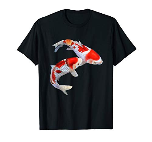 Koi Fish T-Shirt Chinese Koi Carp Fish Graphic Shirts