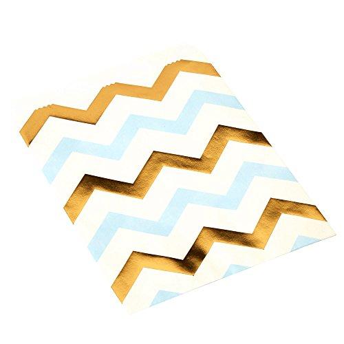 Neviti Pattern Works Bonbon-zakje, zigzack, blauw