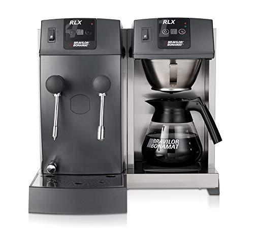 Bonamat Kaffeemaschine RLX 41 mit Glaskanne, Kaffeebrühsystem, Warmhalteplatte, Heißwasser und Heißwasserdampf 400V
