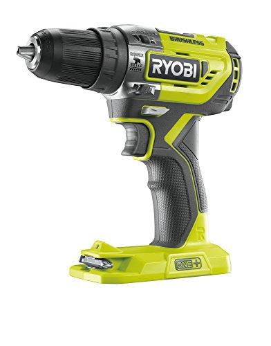 Ryobi R18PD5-0 Taladro Percutor Sin Escobillas, 0 W, 18 V, Verde, Talla Unica