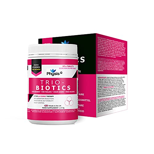 Physis Oral Probiotics for Women | 60 Tablets | Ladies Thrush, Cystitis,...