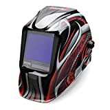 Lincoln Electric K3248-4 Viking 3350 Auto Darkening Welding Helmet, Twisted Metal