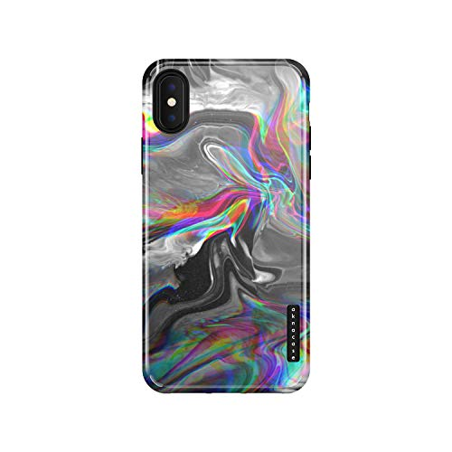 iPhone X & iPhone Xs Case Marble, Akna Sili-Tastic Series High Impact Silicon Cover with Full HD+ Graphics for iPhone X & iPhone Xs (101695-U.S)