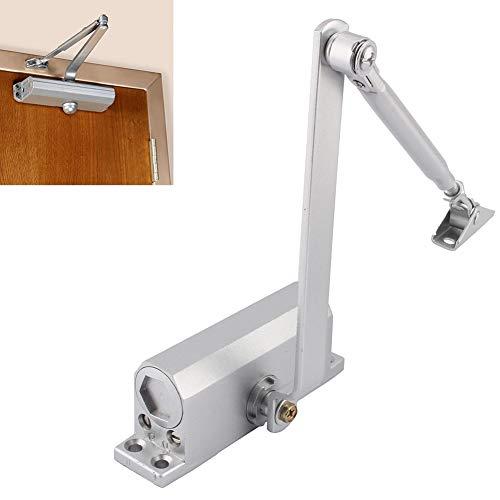 verstellbar Türschließer mit Montageplatte und Gleitschiene Gestänge-Türschließer für 600-1200 mm breite Tür