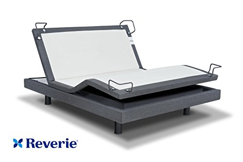 Reverie 7S Adjustable Bed From The Makers Of The Tempurpedic Ergo W/ Bluetooth Option (Queen, With...