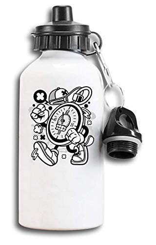 Cartoon Style stopwatch Sprint Sport Timer Tourist Water Bottle