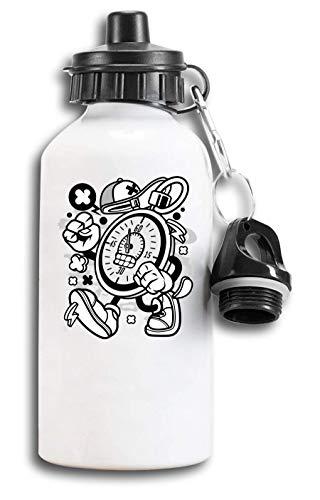 Cartoon Style stopwatch Sprint Sport Timer Tourist Water Bottle