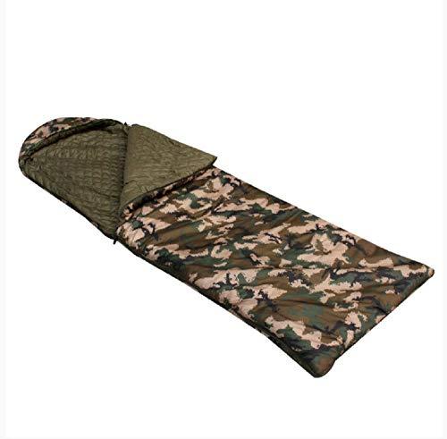 xinbodian Désert Camouflage numérique Sac de Couchage Activités de Plein air Sac de Couchage Soldat Simple Randonnée Terrain Camping Sac de Couchage Chaud
