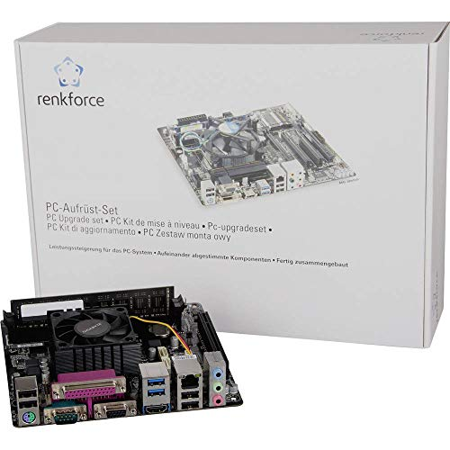 RENKFORCE - Kit de tuning PC,AMD E1, AMD E1-6010 APU(2 x,1.4 GHz) 8 GB,AMD Radeon,R2,Mini-ITX