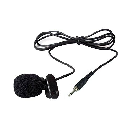 vevice Clip Mikrofon Lehrer Kopfbügel Revers Weizen Teaching Guide Mikrofon Reverskragen Brust Mikrofon Headset Mikrofon Klein Bee Halsband Clip Mikrofon Krawattenklammer Mikrofon (3,5Gewinde)