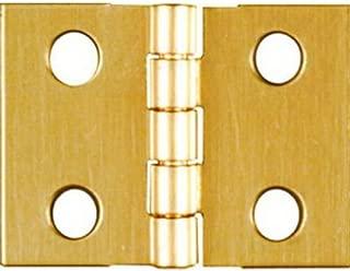 NATIONAL/SPECTRUM BRANDS HHI N211-326 3/4 x 1-Inch Brass Hinge, 4-Pack