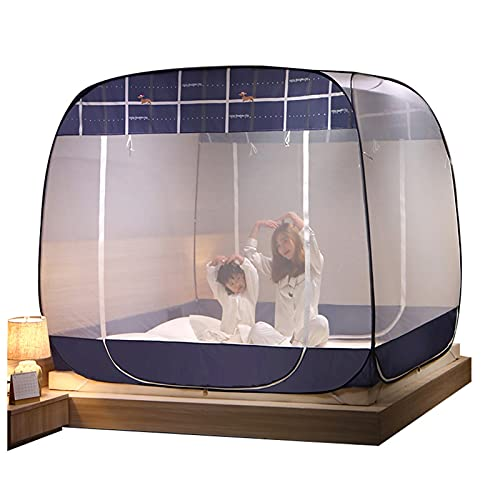Mosquitera Mosquitera Portátil Al Aire Libre, Mosquitera Plegable para El Hogar/Camping, Mosquitera De Protección contra Caídas para Adultos/Niños para Cama Individual/Doble