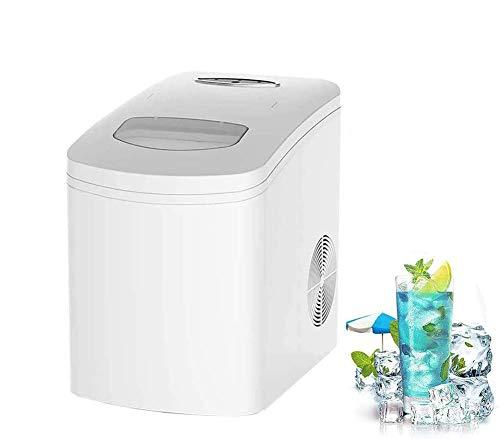 Dpliu Tragbare Stille Eiswürfelbereiter, 33 £ / 24 Stunden, 9 Kugel EIS / 7-10 Minuten, 2.2L Super große Wasserspeicherkapazität, for Restaurant Bar, Family Party