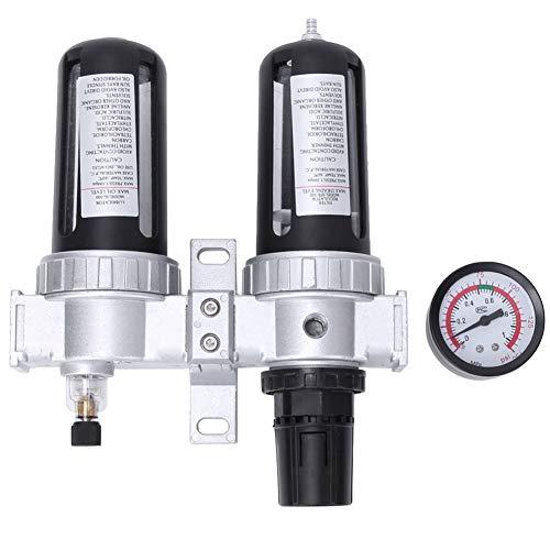 Filtro de compresor sólido, regulador de filtro Combo 3/8 SFC300 3/8 5-60 ℃ con aleación de aluminio