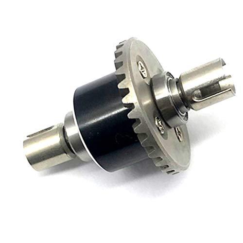 SNOWINSPRING Ganzmetall Differentialgetriebe Set Upgrade Ersatz Zubeh?r für Wltoys 144001 1/14 Rc Drift Rennwagen