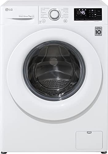 LG F14WM7LN0E Waschmaschine, weiß