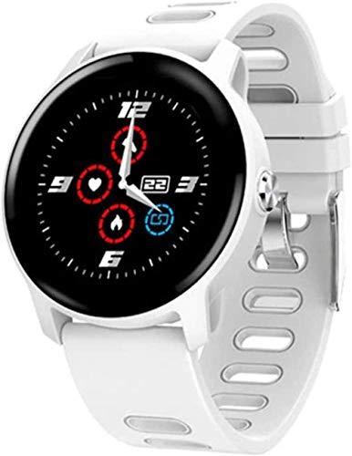 JSL Reloj inteligente para hombre y mujer, IP68, resistente al agua, con monitor de ritmo cardíaco, monitor de sueño