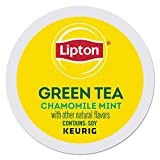 Lipton Soothe Green Tea with Chamomile and Mint single serve K-Cup pods for Keurig brewers, 96 Count