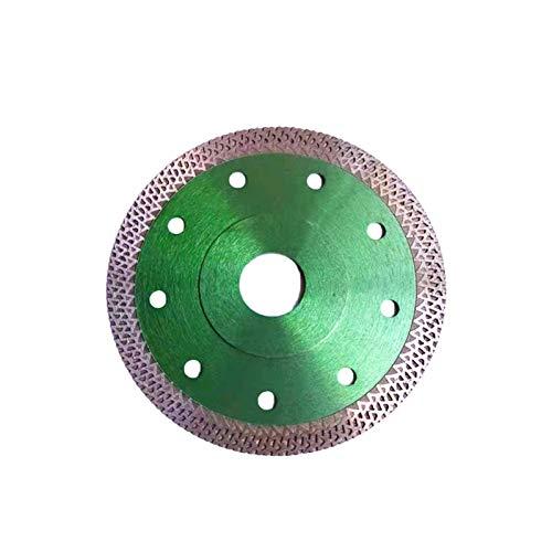 Disco de corte para azulejos y baldosas de 115mm con 22,23 mm de diámetro para cortar y rebanar azulejos finos y piedras naturales Disco Diamantado amoladora,Verde