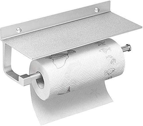 ELLOALLO Wall Mount Paper Towel Holder 13 Discount mail order Shelf Kitchen In for Financial sales sale