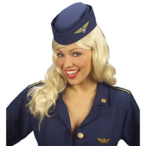 Stewardess Haube Hut Flugbegleiterin Schiffchen