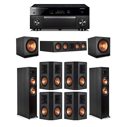 Review Of Klipsch7.2 Ebony System - 2 RP-6000F,1 RP-404C,4 RP-502S,2 SPL-150,1 RX-A1080 Receiver
