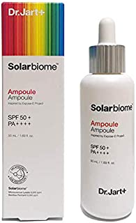 Dr.jart Solarbiome Ampoule Sun Fluid SPF 50+ PA++++ Sunscreen Lotion, Isolating Resistant UVA And UVB Hydrating Soothing L...